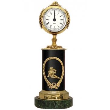 Часы из бронзы «Знак Зодиака - Дева»