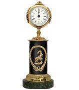 Бронзовые часы «Знак Зодиака-Козерог»