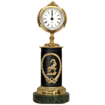 Часы из бронзы «Знак Зодиака-Козерог»