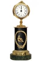 Бронзовые часы «Знак Зодиака - Водолей»