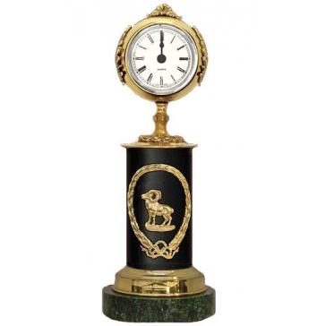 Часы из бронзы «Знак Зодиака-Овен»