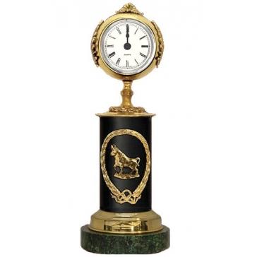 Часы из бронзы «Знак Зодиака-Телец»