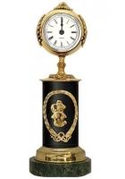 Бронзовые часы «Знак Зодиака - Рыбы»