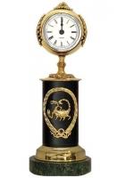 Бронзовые часы «Знак Зодиака-Скорпион»
