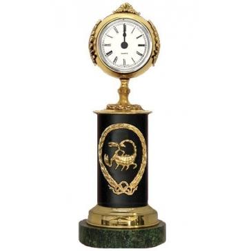 Часы из бронзы «Знак Зодиака-Скорпион»
