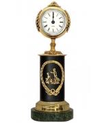 Бронзовые часы «Знак Зодиака - Близнецы»