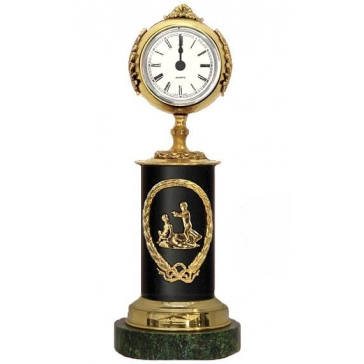 Часы из бронзы «Знак Зодиака - Близнецы»