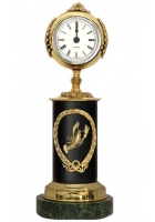 Бронзовые часы «Знак Зодиака-Рак»