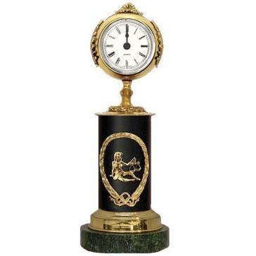 Часы из бронзы «Знак Зодиака - Весы»