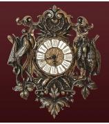 Бронзовые часы настенные