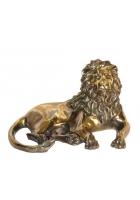 Бронзовая статуэтка «Лев»