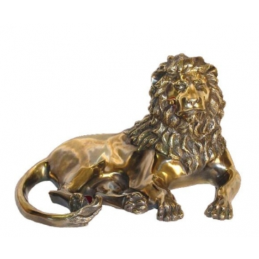Статуэтка из бронзы «Лев»