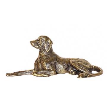 Статуэтка из бронзы «Пойнтер»
