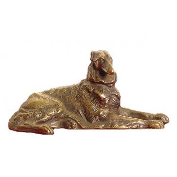 Статуэтка из бронзы «Колли»