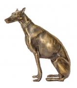 Бронзовая статуэтка «Доберман»
