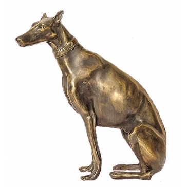 Статуэтка из бронзы «Доберман»