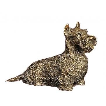 Статуэтка из бронзы «Скотч-терьер»