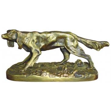Статуэтка из бронзы «Сеттер»
