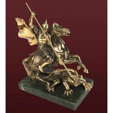 Статуэтка из бронзы «Георгий Победоносец»