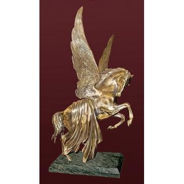 Статуэтка из бронзы «Пегас»