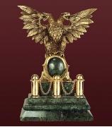 Бронзовая скульптура «Двухглавый орел»