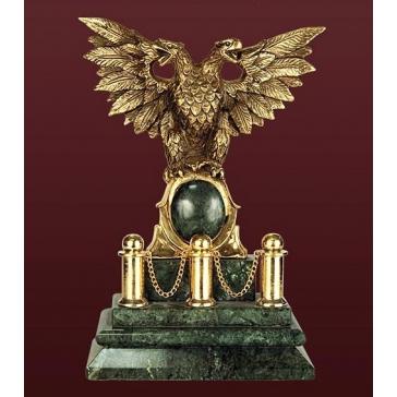 Бронзовая статуэтка «Двухглавый орел»