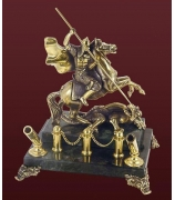 Бронзовая статуэтка «Георгий Победоносец»