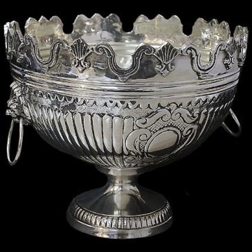 Круглая ваза для фруктов (на ножке)
