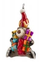 Елочная игрушка «Лось с подарками»