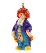 Елочная игрушка «Жонглирующий клоун»