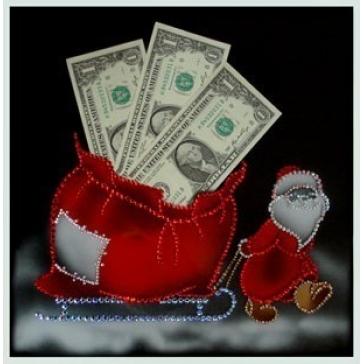 Картина Сваровски «Ваш денежный мешок»