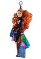 Елочная игрушка «Маша с покупками»