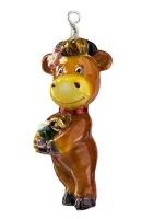 Елочная игрушка «Буренка»