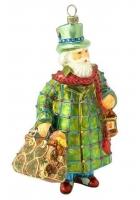Елочная игрушка «Санта из Лондона»