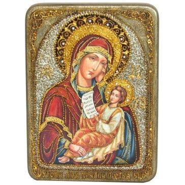 Икона «Утоли моя печали», в шкатулке