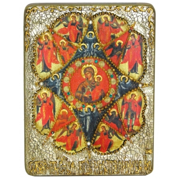 Икона Богородицы «Неопалимая купина»
