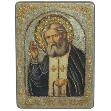 Подарочная икона «Преподобный Серафим Саровский Чудотворец»