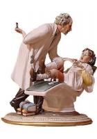 Фарфоровая статуэтка «Стоматолог»