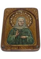 Живописная икона «Святая Матрона Московская»