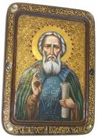 Живописная икона «Сергий Радонежский»