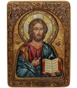 Живописная икона «Господь Вседержитель»