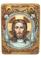 Живописная икона «Спас Нерукотворный»