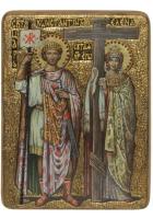 Живописная икона «Святые Константин и Елена»