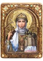 Живописная икона «Святая Ольга»