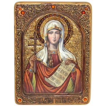 Икона «Святая мученица Татиана» живописная в деревянной шкатулке
