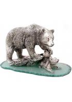 Статуэтка «Медведь с медвежатами»