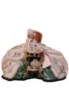 Фарфоровая статуэтка «Читающая дама»