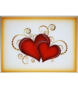 Картина «Влюбленные сердца»