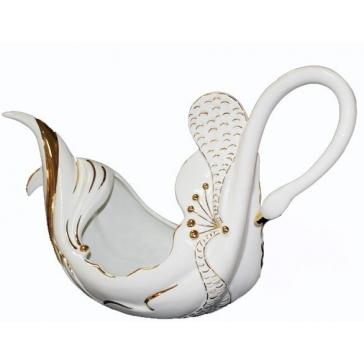 Ваза для фруктов «Лебедь», Италия