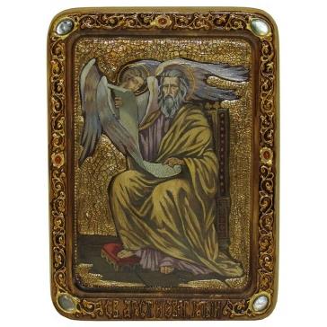 Живописная икона «Святой апостол и евангелист Матфей»